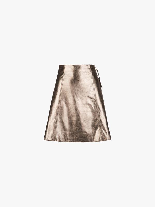 Denver Leather Skirt