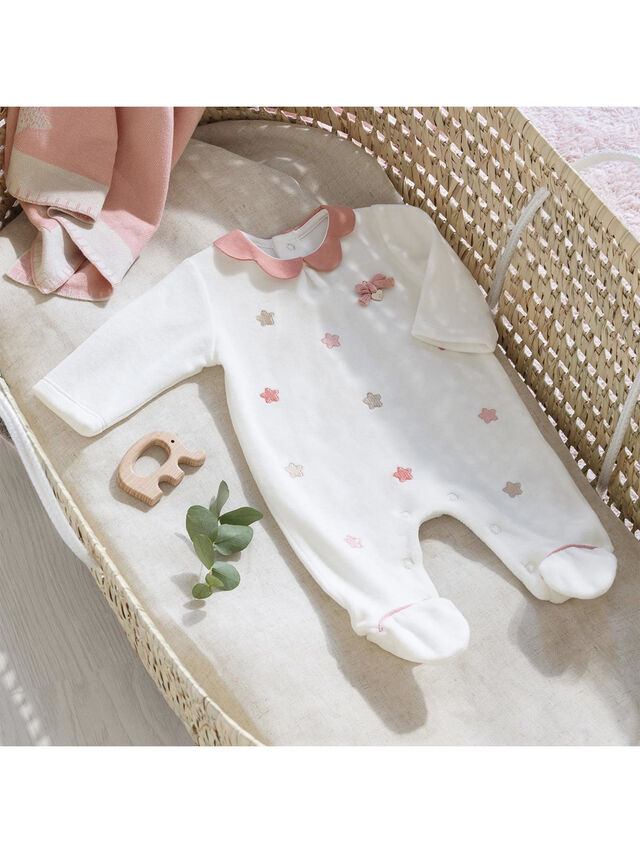 Velour Babygrow