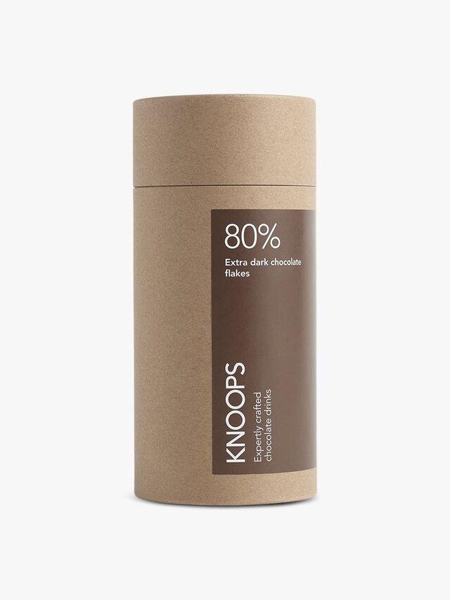 80% Extra Dark Chocolate Flakes
