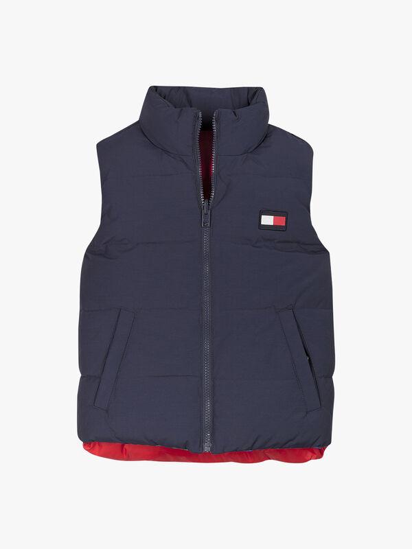 Colorblock Reversible Vest