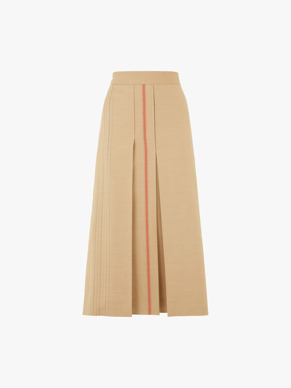 Gambo Front Stripe Detail Skirt