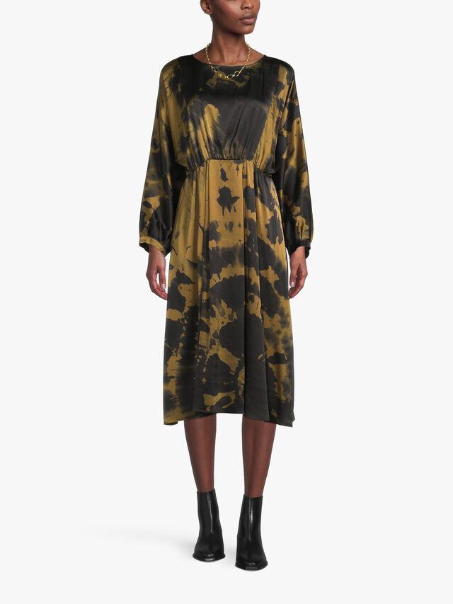 Chatillon Tie Dye Printed Dress