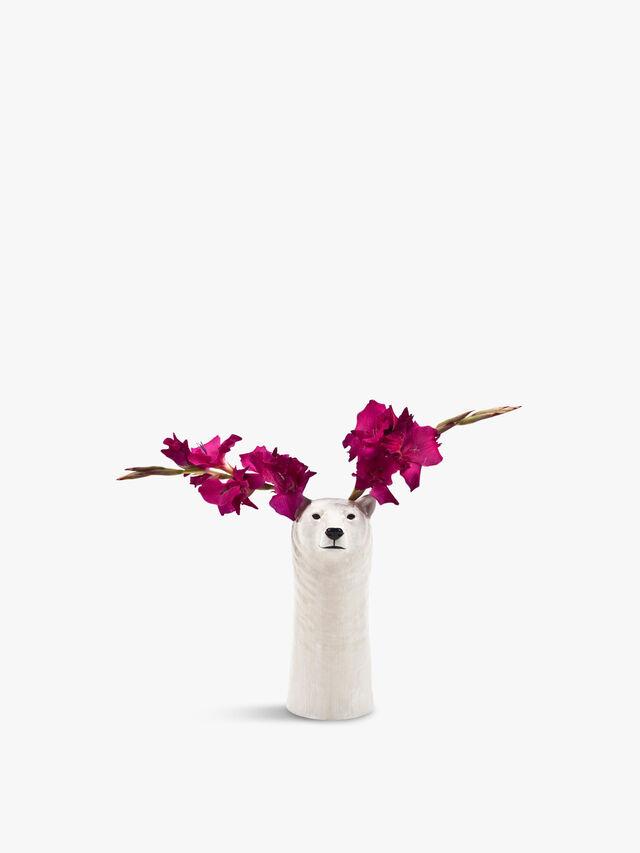 Polar Bear Flower Vase