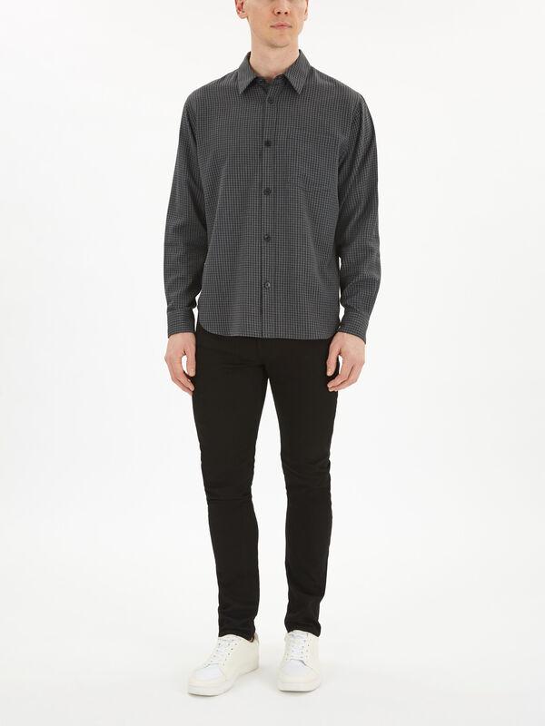 Minimal Gingham Shirt