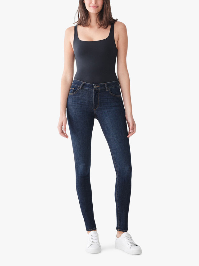 Florence Mid Rise Skinny Jeans