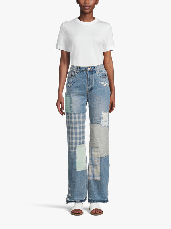 Steinback Patched Jeans