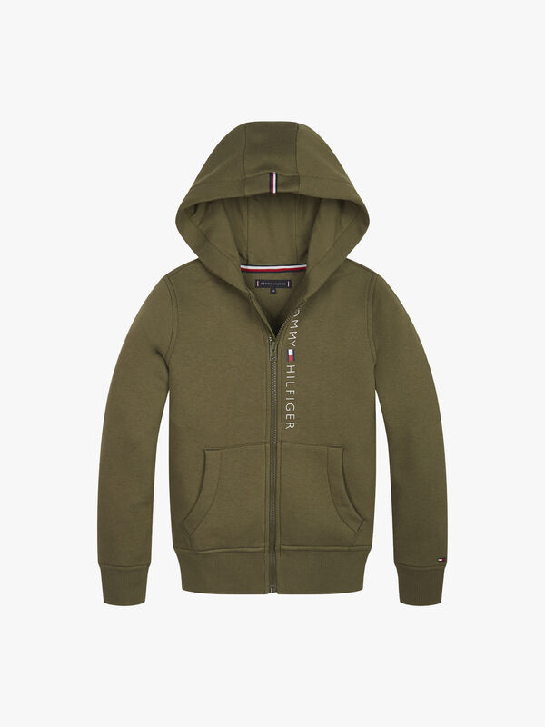 Essential Logo Zip-Through Hoodie