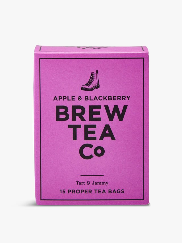 Apple and Blackberry Teabags