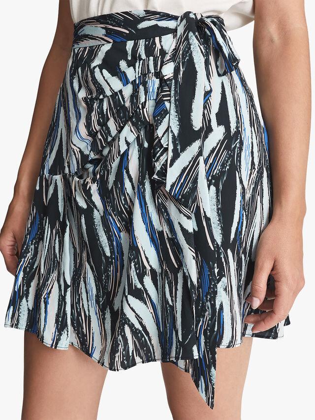 Astrid Printed Mini Skirt