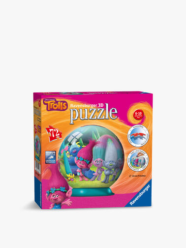 Trolls 3D Puzzleball 72pc
