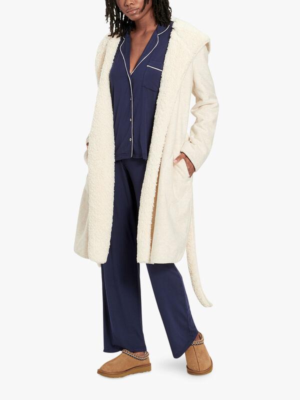 Portola Reversible Belted Robe