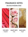 Delicious Rhubarb & Rose Hand Cream