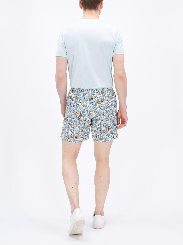 Hibiscus Print Swim Shorts