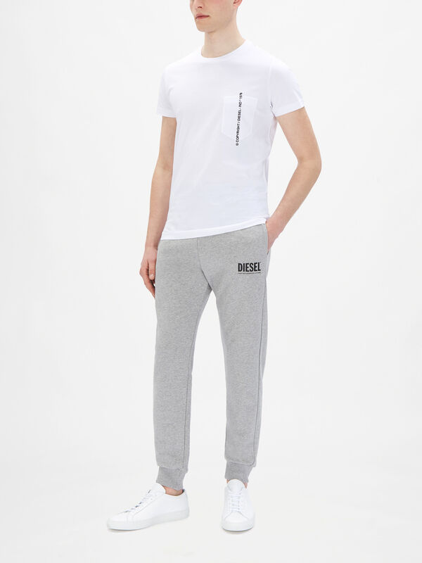 T-Rubin-Pocket-J 1 Embroidered T-Shirt