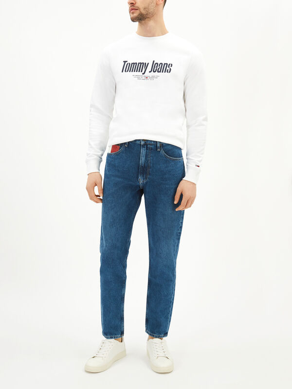 Rey Faded Tapered Fit Jeans