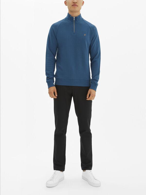Jim 1/4 Zip Sweatshirt