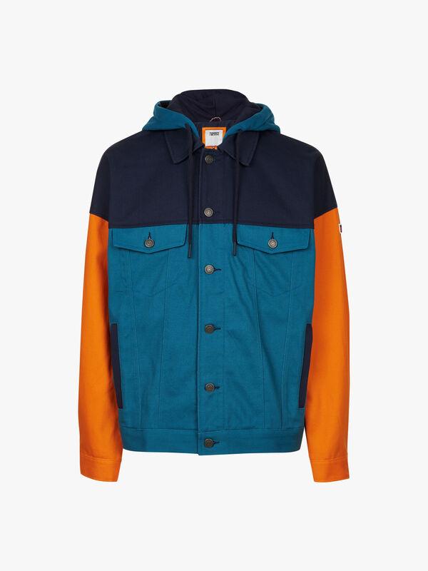 Colour-Blocking Jacket