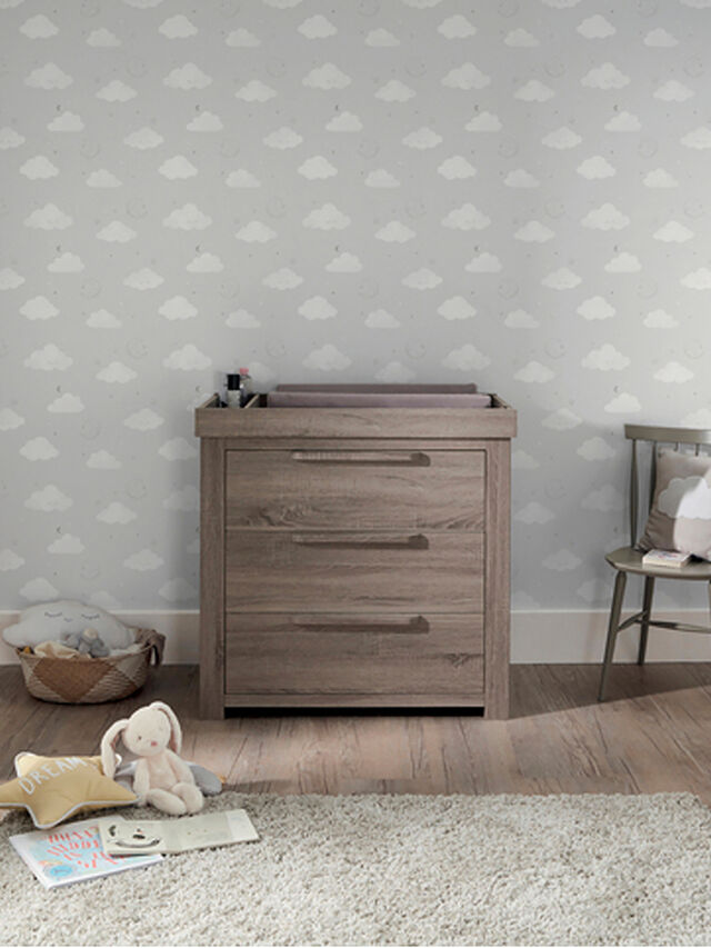 Frankin Cotbed, Dresser and Wardrobe