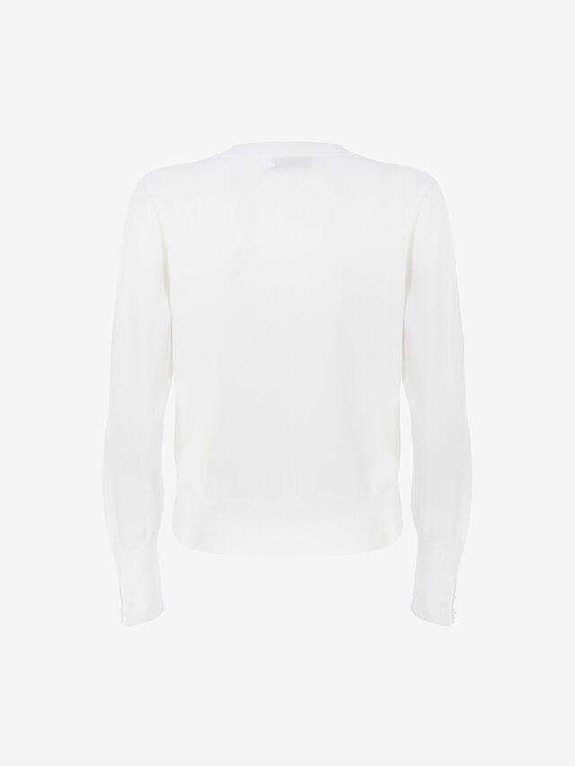 Off-White Popper Cardigan