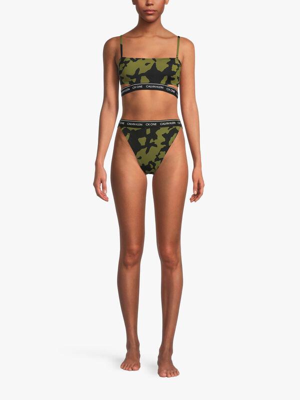 CK One Tanga Bikini Bottoms
