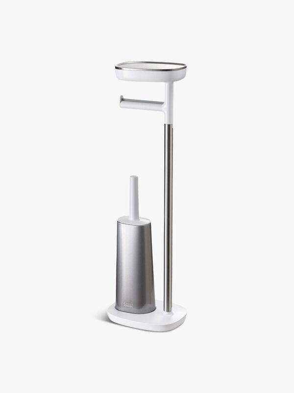 EasyStore™ Plus Toilet Paper Holder with Flex™ Steel Toilet Brush