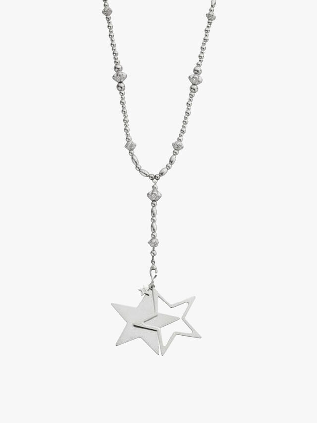 Fearless Necklace Extra Large Stars Pendant