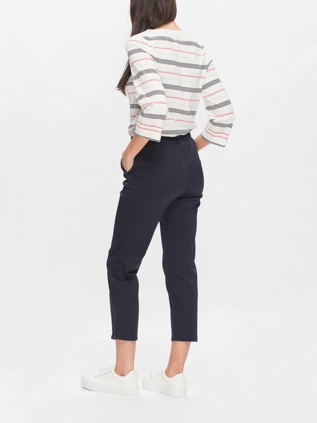 Padme Cotton Stretch Ankle Pant