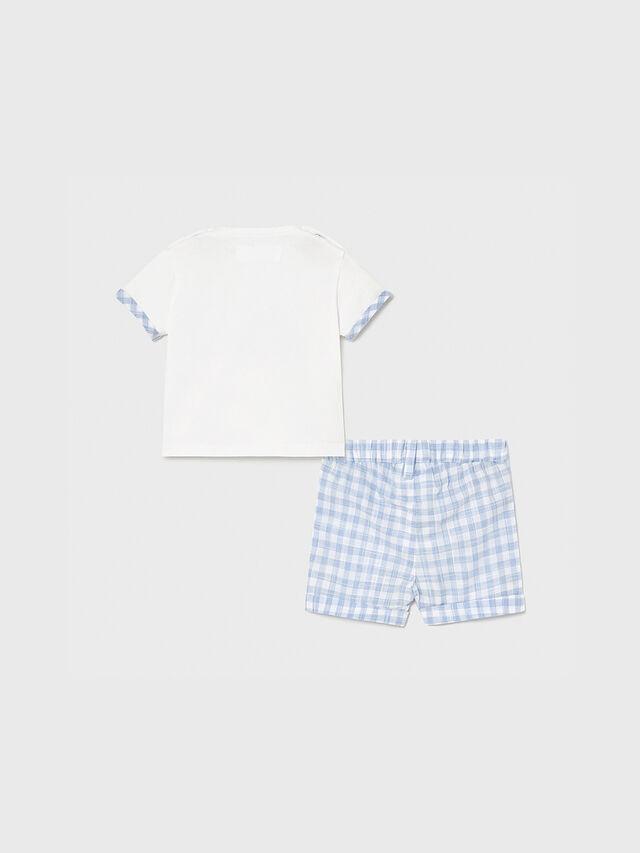 Check Shorts & T-shirt Set