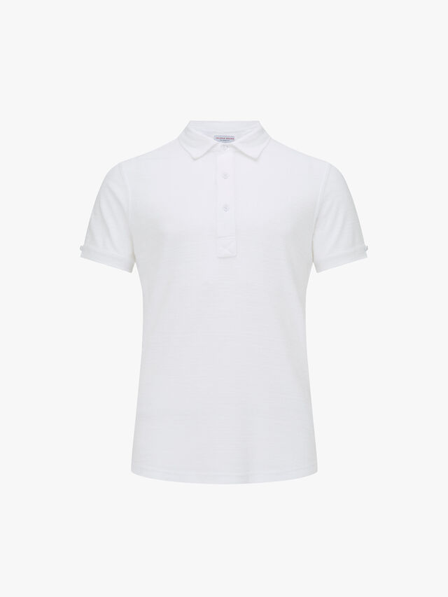 Sebastian Towelling Short Sleeve Polo