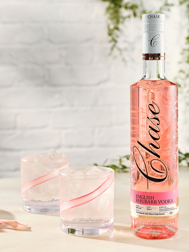 Chase Rhubarb Vodka 70cl