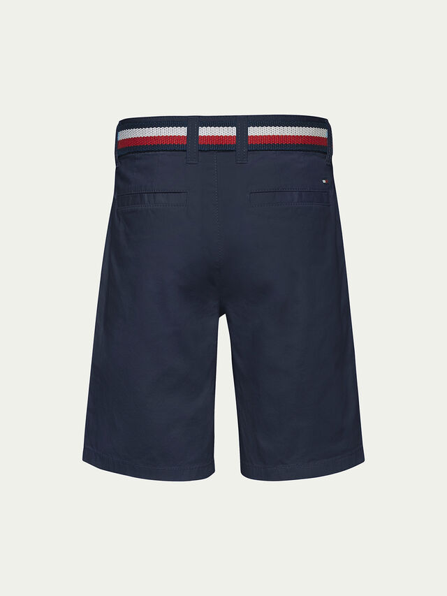 Essential Belted Chino Shorts