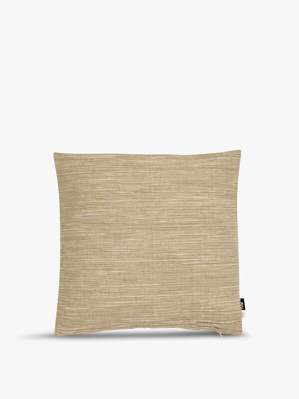 Ribbed Chambray Cushion 45cm