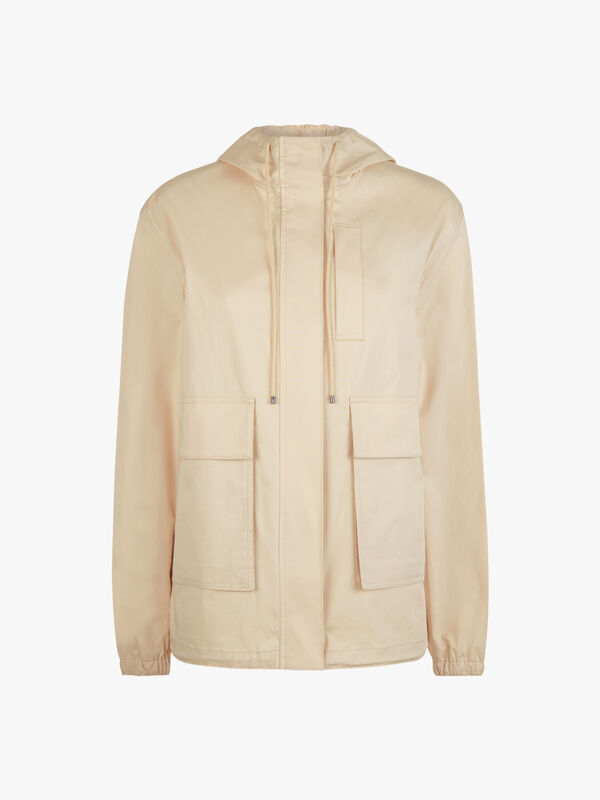 Hooded Pocket Detail Anorak