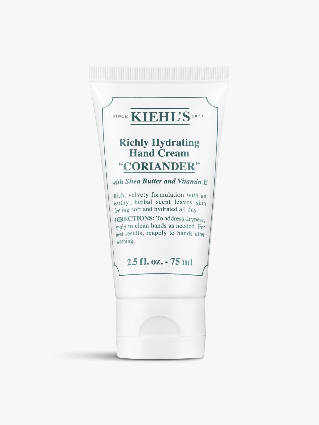 Richly Hydrating Hand Cream Coriander 75ml
