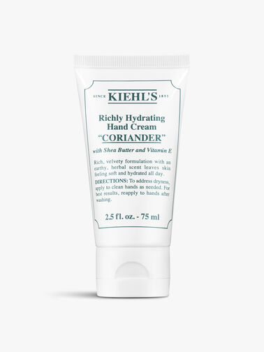 Richly Hydrating Hand Cream Coriander