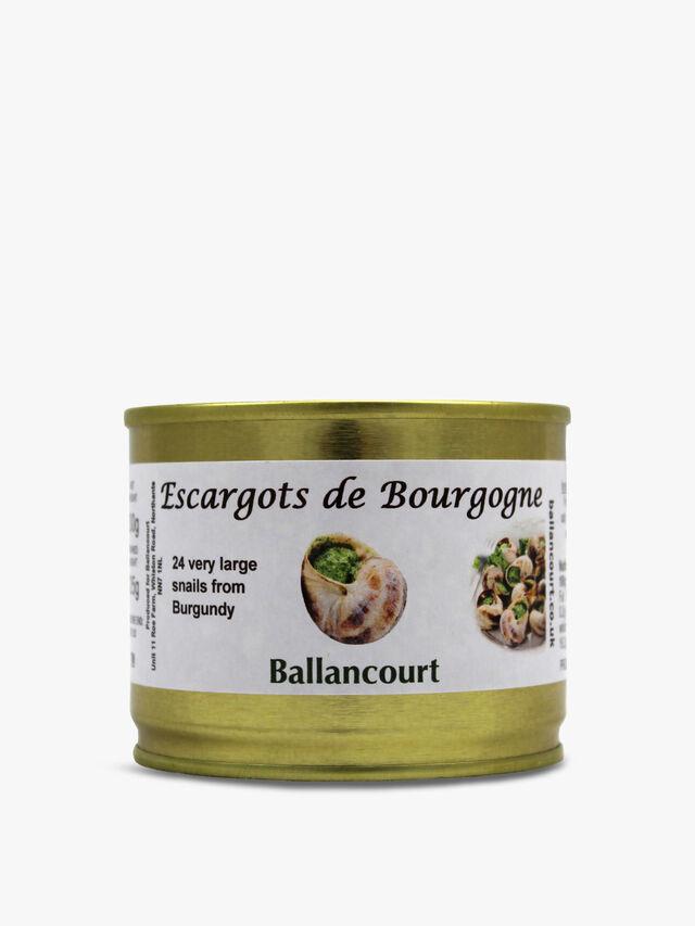 24 Large Burgundy Snails 125g
