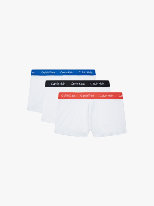 3 Pack Low Rise Trunks Contrast Band
