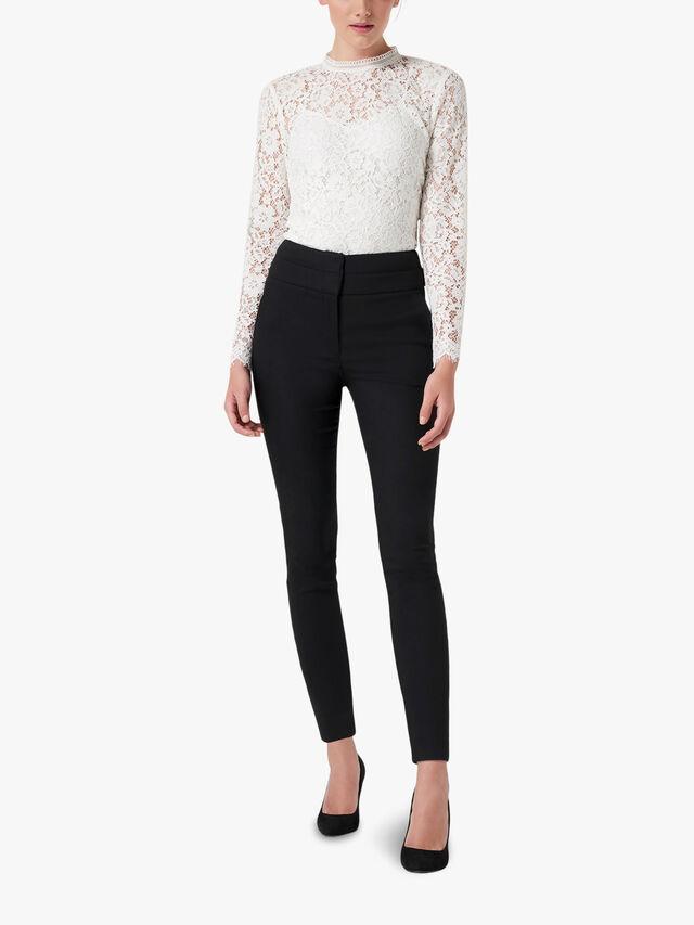 Georgia high waist full length pants