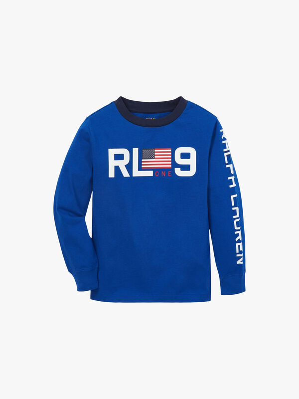 Jersey Long Sleeve Graphic Tee