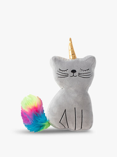 Caticorn Dog Toy with Squeaker