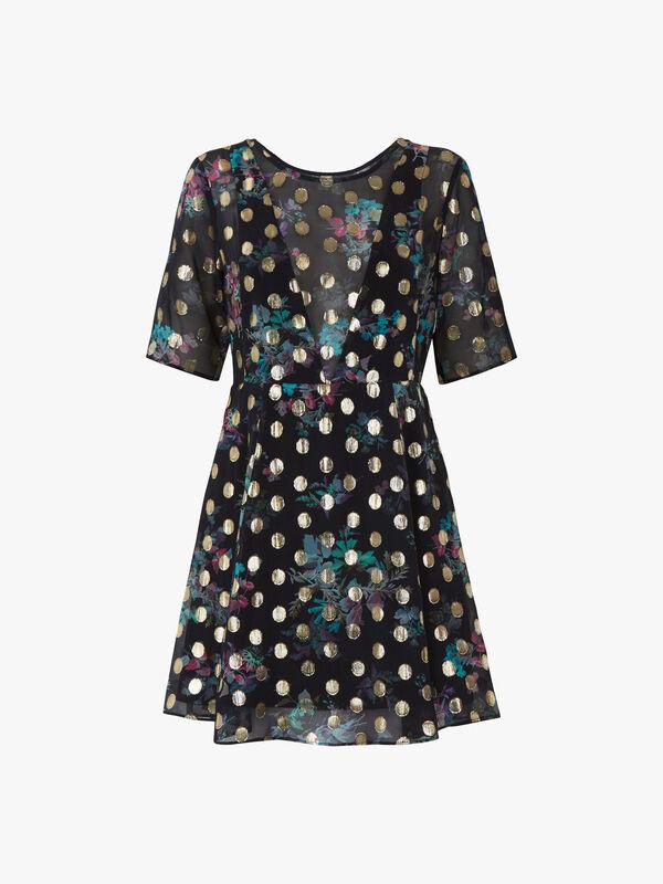 Panacea Patterend Mini Dress