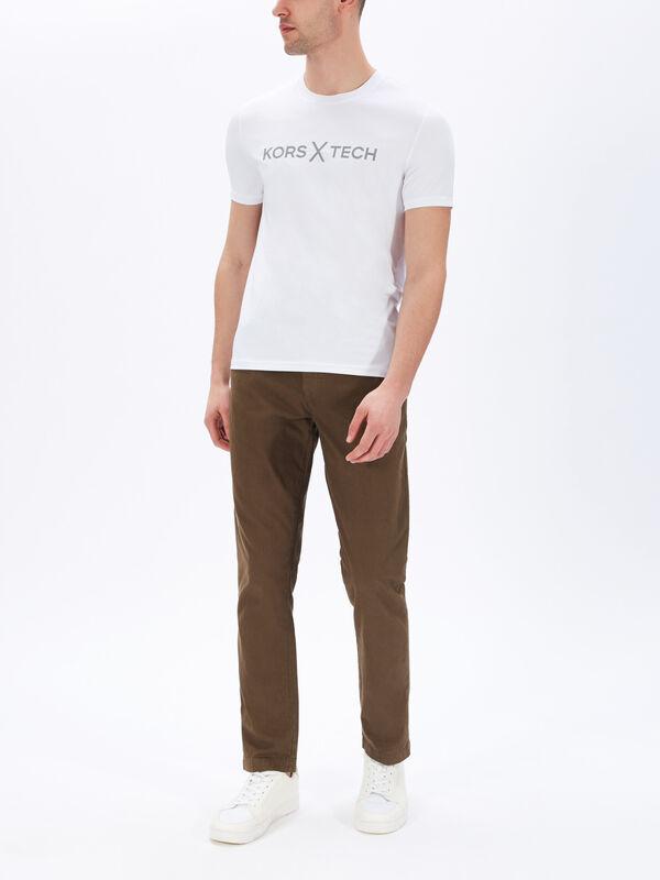 KT Metallic KXT Logo T-Shirt