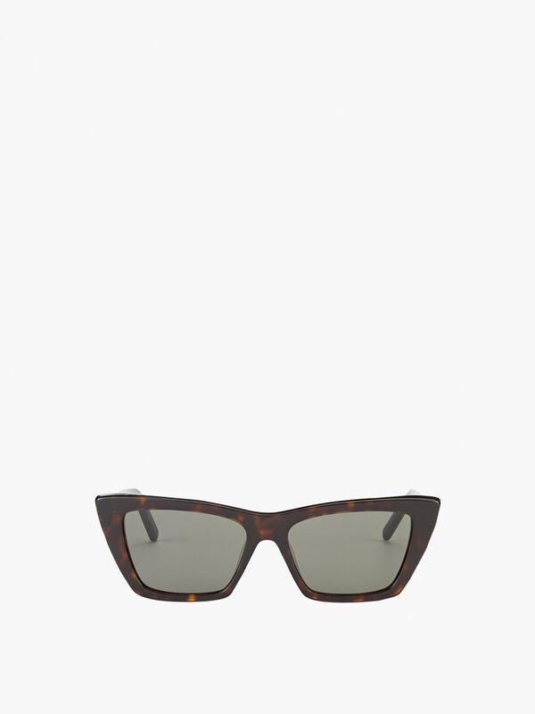 Mica Small Square Cat-eye Sunglasses