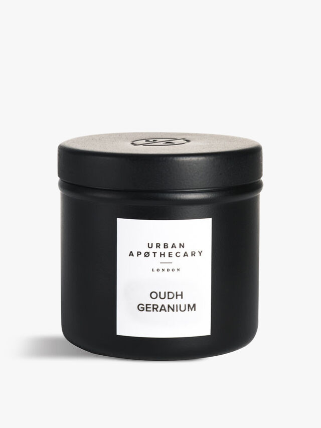Oudh Geranium Luxury Travel Candle