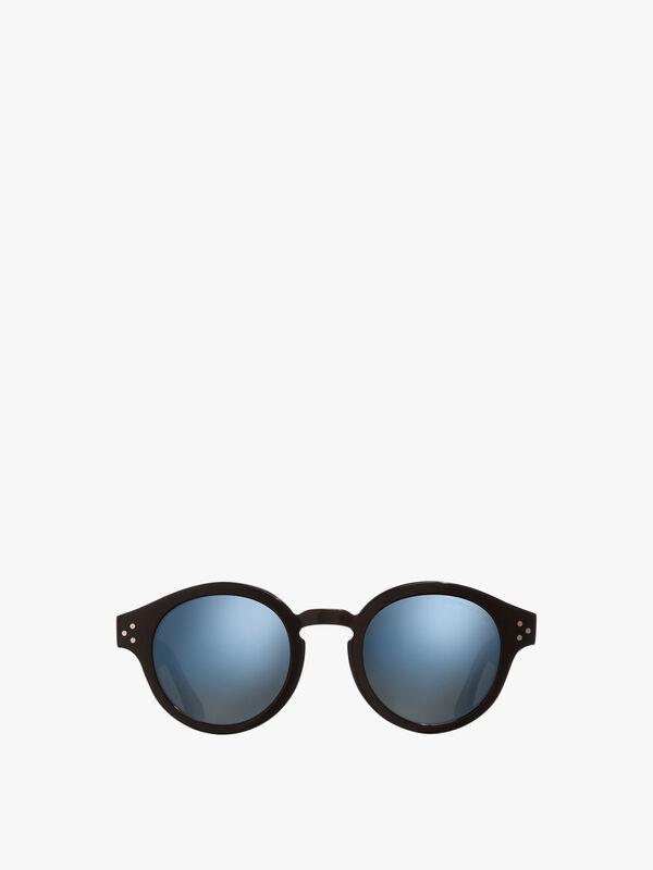 Classic Round Acetate Sunglasses