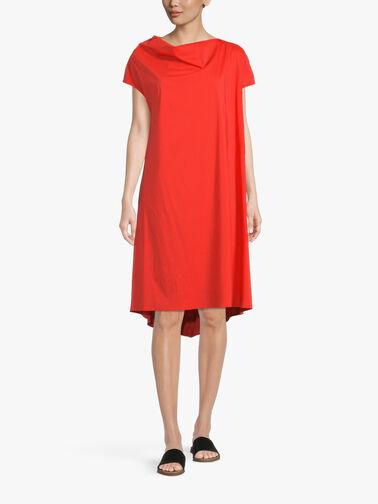 Cotton-Poplin-Drop-Hem-A-Line-Dress-w-Side-Pockets-L1SK82