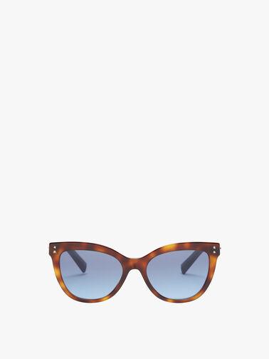 Side Stud Temple Sunglasses