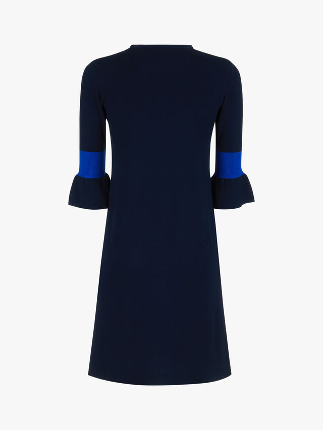 Compasso Frill Sleeve Sweater Dress