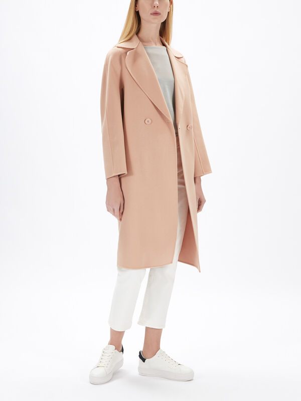 Ode Double Breast Wool Coat