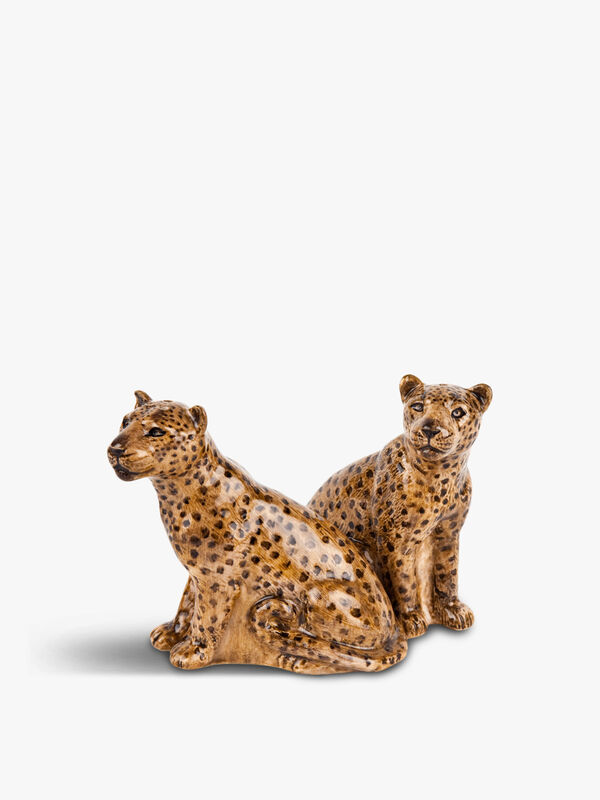 Leopard Salt & Pepper Mill